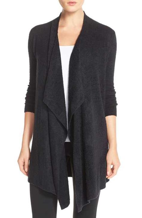 Barefoot Dreams® Drape Front Cardigan (Nordstrom Exclusive)
