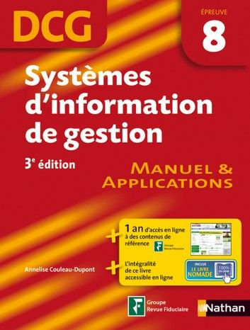 Systemes D Information De Gestion Epreuve 8 Dcg Manuel Et Applications Ebook By Annelise Couleau Dupont Rakuten Kobo Comptabilite Livres De Comptabilite Gestion
