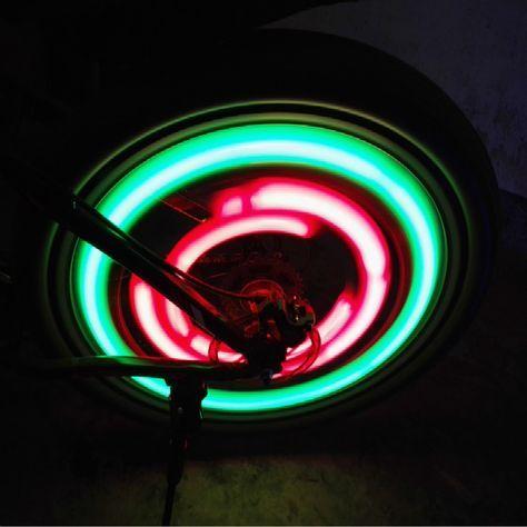 Cahaya Roda Sepeda Baru Sepeda Bycicle Cahaya Dengan Baterai 7