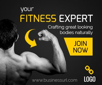 Fitness Expert Banner Gym Training Ad Banner Best Banner Ad Design Fitness Experts Personal Gym Banner