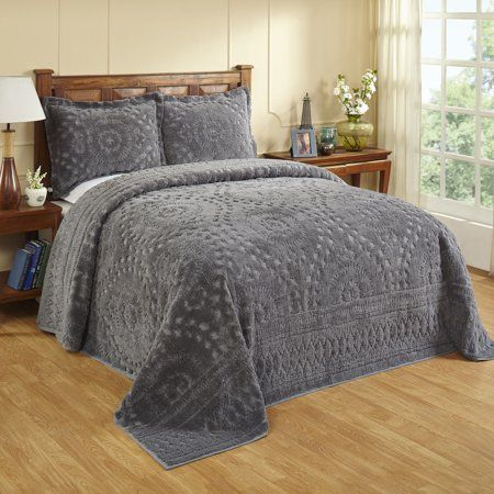 Home In 2020 Bed Spreads Chenille Bedspread Furniture