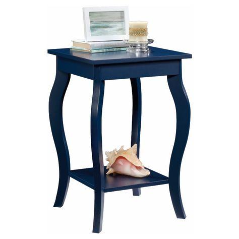 Harbor View Side Table - Indigo Blue - Sauder