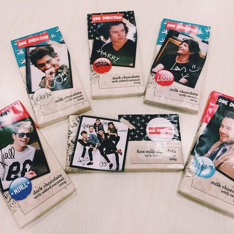 update: 1D candy bars are being made in the Philippines !