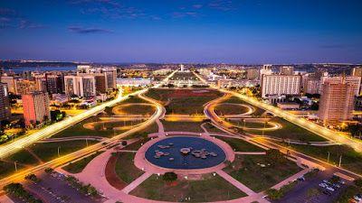 ما هي عاصمة البرازيل المدينة ذات التخطيط الجميل برازيليا عاصمة البرازيل الرسمية أنشئت في 21 ابريل 1960 على يد الر City Wallpaper Brazil Travel Brasilia