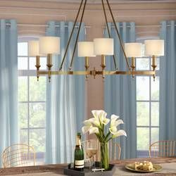 Devona 6 Light Shaded Classic Traditional Chandelier Dining Room Lighting Chandeliers Dining Room Lighting Traditional Chandelier