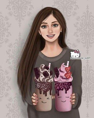 Krasivye Kartinki Photo Lyubov Girly Art Girly M Cute Girl Drawing