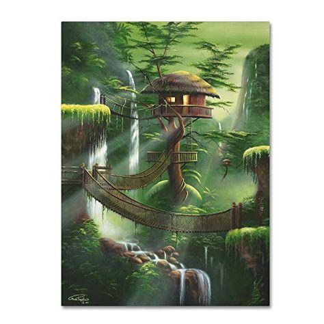 Lofty Perch Sequel by Geno Peoples, 24x32-Inch Canvas Wall