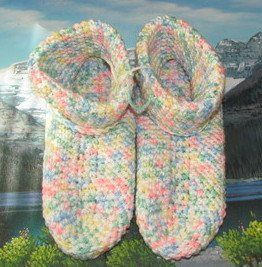 CSK 008 Hand crochet slipper age of 4 to 7 shoe size 3