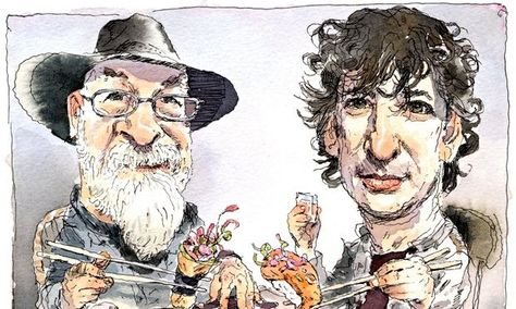 From Neil Gaiman and Terry Pratchett to HP Lovecraft and Harry Houdini – sometimes it's better to do it together! Carrie Ryan and John Parke Davis pick out their favourite co-writers