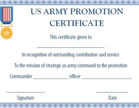 Printable Promotion Certificate Template In 2021 Certificate Of Completion Template Certificate Template Certificate Of Achievement Template