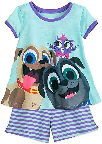 New Disney Puppy Dog Pals Shorts Sleep Set Girls Online Shopping