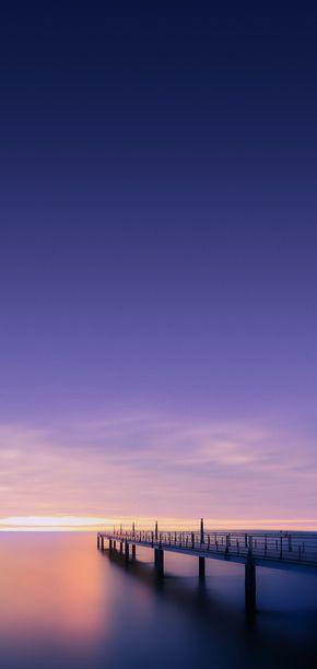 Night Sky Blue Ocean Wallpaper Clean Galaxy Colour Digital Art S8 Walls Samsung Fond Ecran Samsung Fond D Ecran Telephone Photo Paysage Magnifique