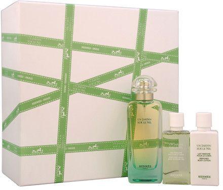 Hermes Un Jardin Sur Le Nil Gift Set 3 Piece Hermes Perfume