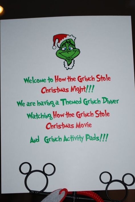 The Simple Life: How the Grinch Stole Christmas Themed Night!!!