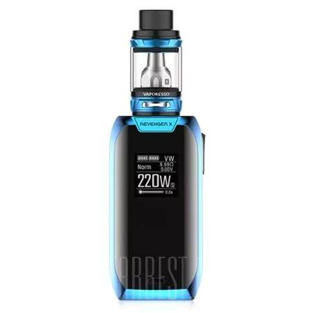 Vaporesso Revenger X 220w Blue Mod Kits Sale Price Reviews