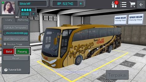 Cara Memasang Livery Bus Simulator Indonesia Android