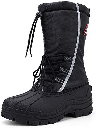 Insulated Waterproof Winter Snow Boots