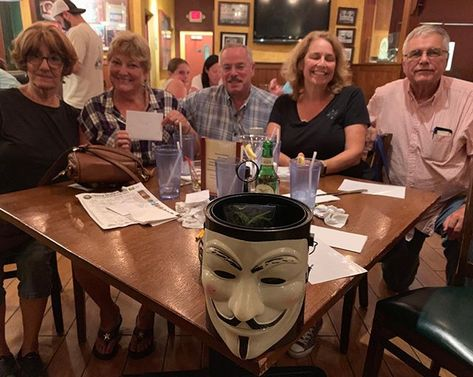 Congratulations to Team Mixed Nuts for winning 2nd place at Smokey's Brick Oven Tavern! . . #trivianight #triviawinners #TriviaRevolution #notyouraveragetrivia #revolutioniscoming #lettherevolutionbegin #jointherevolution #revolution #guyfawkes #craftbeer #craftbeerrevolution #craftbeernotcrap #craftbeerporn #craftbeernj #njcraftbeer #drinklocal #NJCB #NJCBmember #njbeer #njbrewery #triviatuesday