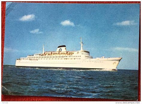"Schiffe - AK SCHIFF M.S. ""PATRICIA"" SWEDISH LLOYD PASSENGER CAR FERRY…"