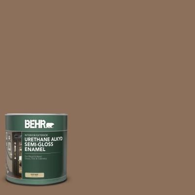 Behr 1 Qt N240 6 Wild Mustang Semi Gloss Enamel Urethane Alkyd Interior Exterior Paint Wild Mustangs Wild In 2020 Exterior Paint Interior And Exterior Interior Paint