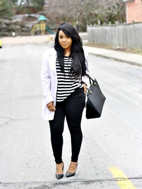 My voguish diaries: pastel + black short girl fashion curvy, petite fashion, curvy