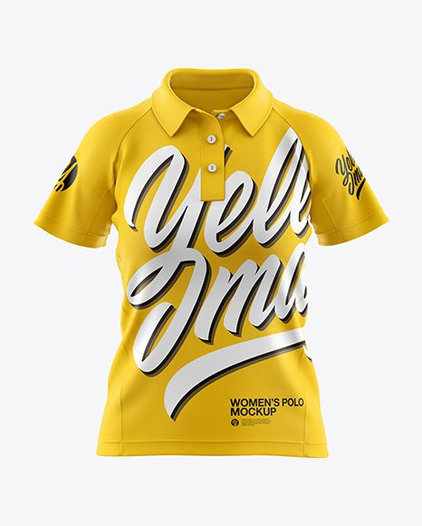 Download Free Polo T Shirt Mockup Psd Yellowimages