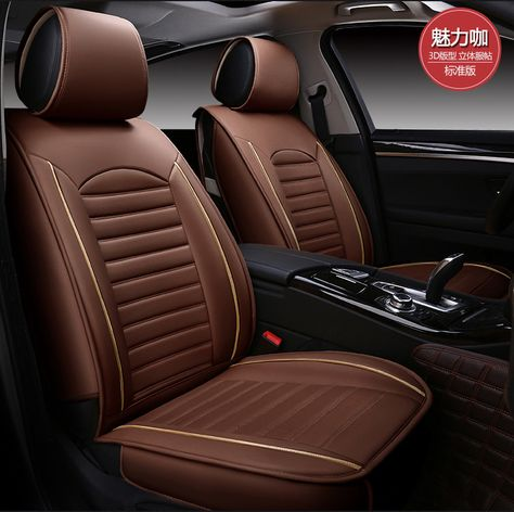 Auto Seat Covers Pu Car Cushion Set For Ford Focus Mondeo Transit
