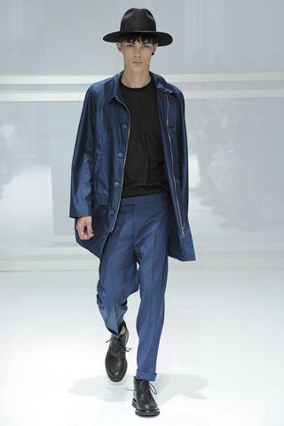 Dior Homme Fashion Fabrics 2011