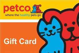 Petco Gift Card Gift Card Petco Cards