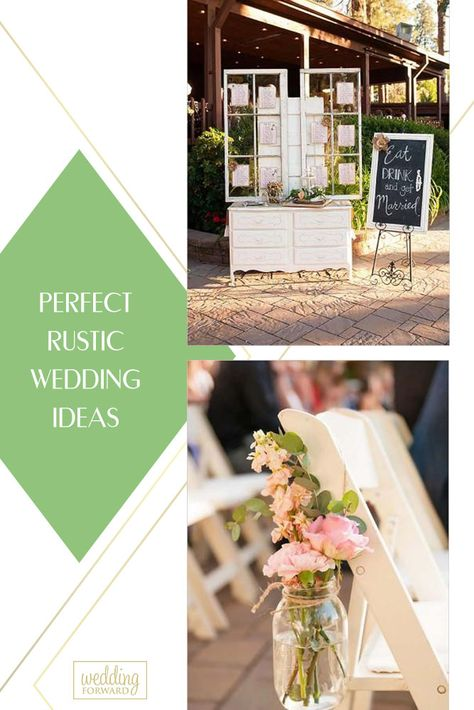 Are you looking for some rustic wedding ideas? Well, we have a list of some stunning ideas that you may want to take as your own.#weddingforward #wedding #bride