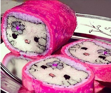 Best Picture For Sushi tempura For Your Taste You are looking for something, and it is going to tell you exactly what you are looking for, and you didn't find that picture. Little Twin Stars, Hello Kitty Items, Hello Kitty House, Aesthetic Indie, Sushi Art, Indie Kids, My Melody, Cute Food, Danger Girl
