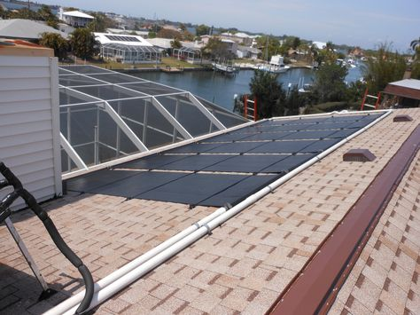 Vortex Solar Pool Heater Www Diysolarpoolheaterkits Com With Images Solar Pool Heating Solar Solar Pool Heater