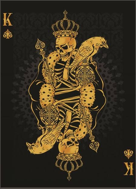 2 By Tortoise Design On Deviantart Playing Cards Art Playing Card Tattoos Card Art