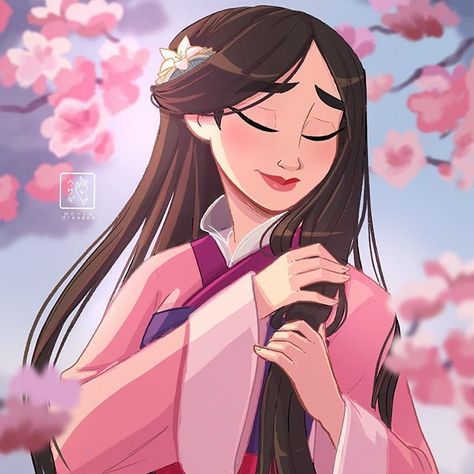 """Maria Dresden on Instagram: """"The flower that blooms in adversity is the most rare and beautiful of all 🌸 (Mulan)  Mulan is one of my favourite disney movies and with…"""""""