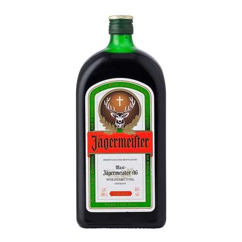Licor  Jagermeister 1l