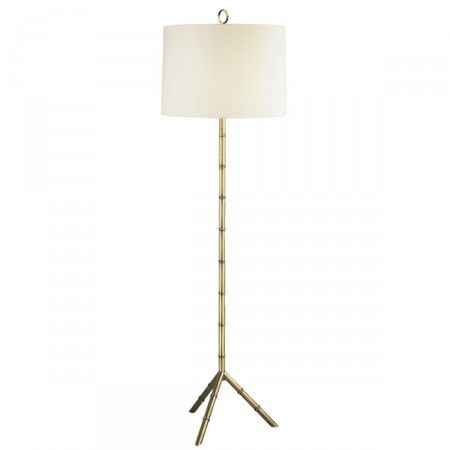 Cole Brass Floor Lamp Lighting Serena And Lily