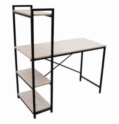 Bureau Book Noir Et Imitation Chene Bureaux But Coffee Table Decor Home Decor