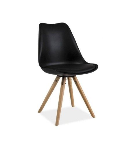 Krzeslo Eric Drewniane Czarne Krzesla Eames 7224659221 Oficjalne Archiwum Allegro Chair Eames Chair Eames
