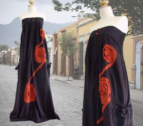 Bandeau Kleider Lang Braun Sommerkleid Baumwolle Von Idea2wear Auf Dawanda Com Lange Kleider Ausgefallene Mode Sommerkleid