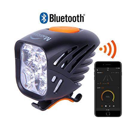 Magicshine New 2018 Mj 906b Bluetooth Front Bike Light 5x Cree Led Waterproof Bicycle Light 3200 Lumen Max Actual Mountain Bike Lights Bicycle Bike Headlight