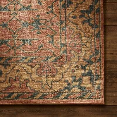 Monterey Hand Knotted Area Rug Frontgate Craftsman Area Rugs Area Room Rugs Wool Area Rugs