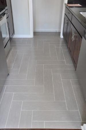 Right Angle Herringbone Tile Floor By Lindsay Redd Design By