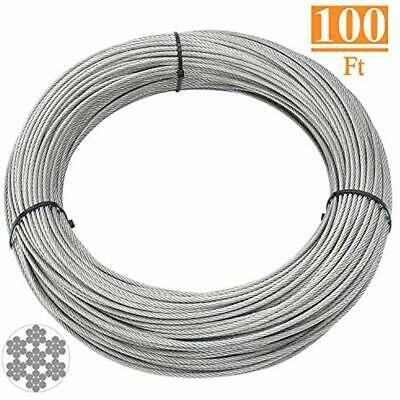 Ad Ebay T316 Marin Grade 1 8 Inch Stainless Steel Aircraft Wire Rope Cable Railing Diy Cable Railing Railing Stainless Steel Cable