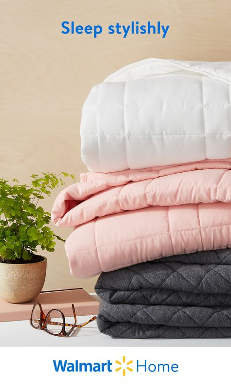 There's nothing like waking up refreshed and ready to take on a brand-new week. At Walmart, find everything you need to prep for rest with cozy sheets, pillows, and more bedding essentials. Making your bed will be less of a chore with these stylish ways to snooze and snore. #WalmartHome