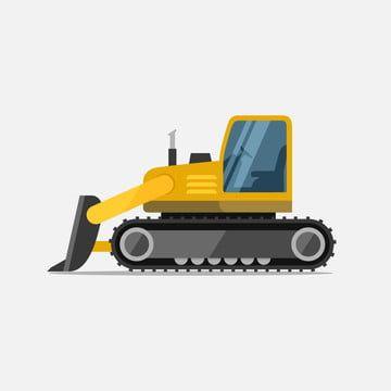 البلدوزر الزاحف آلات خاصة للتوضيح ناقلات العمل البناء آلات جرافة البناء Png والمتجهات للتحميل مجانا Vector Illustration Toy Car Construction Work