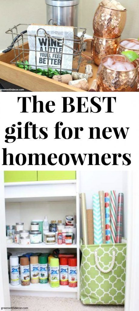 Best Gifts For Homeowners With Images New Homeowner Gift New