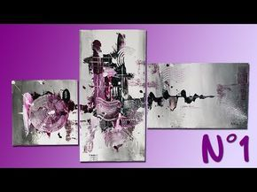 Abstract Painting n°1 - Anthony Painting - YouTube