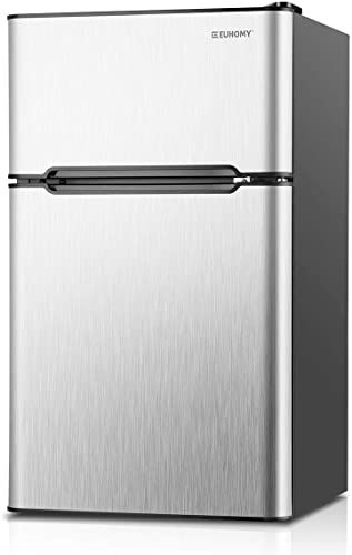 Enjoy Exclusive For Euhomy Mini Fridge Freezer 3 2 Cu Ft 2 Door