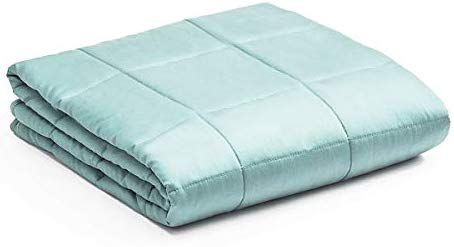 Giantex Premium Cooling Weighted Blanket Smaller Pockets 41 X 60