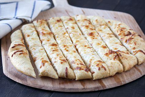 Cheesy Garlic Beer Breadsticks from Handle the Heat